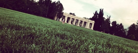 Cheesman Park is one of Denver's Best Great Outdoors - 2012.