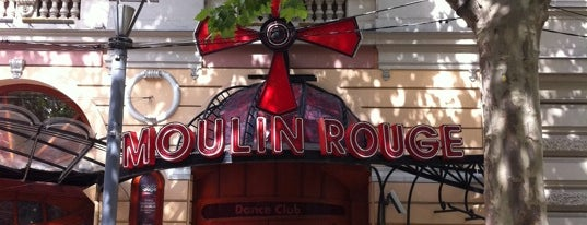 Moulin Rouge is one of Budapest at Night.