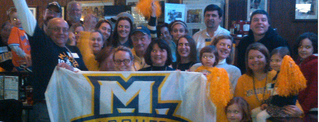 Macadam's Bar & Grill is one of Marquette game-watching venues.