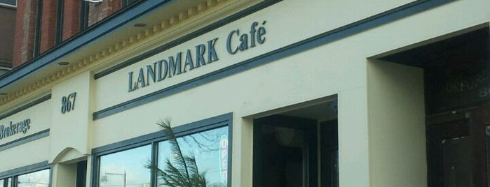 Landmark Cafe Manchester Ct Reviews