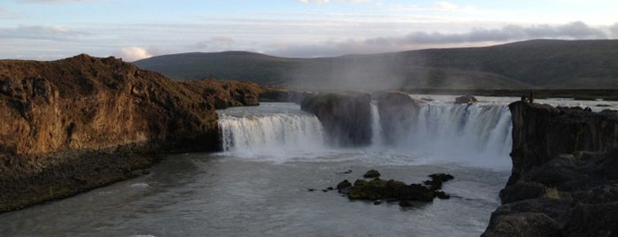 Goðafoss is one of Iceland Grand Tour.