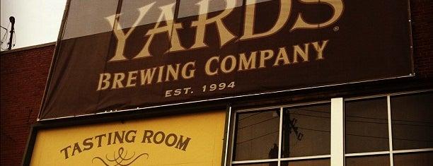 Yards Brewing Company is one of Philadelphia's Best Beer - 2012.