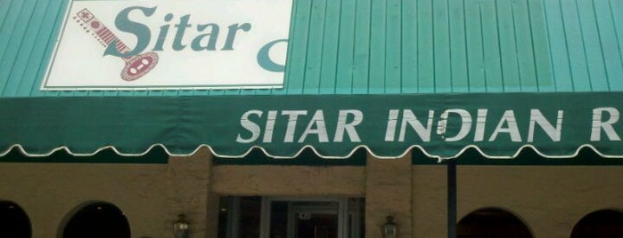 Sitar Indian Cuisine is one of Favorite Places.