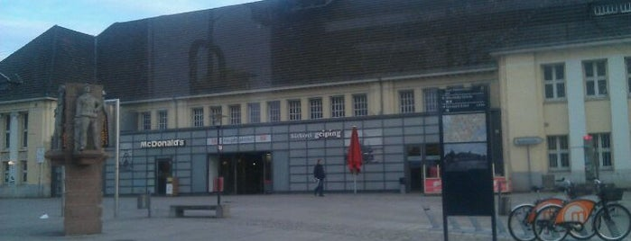 Wanne-Eickel Hauptbahnhof is one of Bahnhöfe DB.
