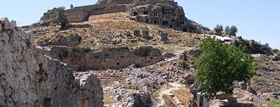 Tlos is one of Fethiye: Must Sees.