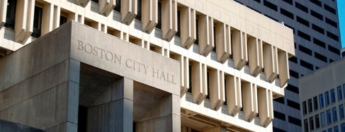 Boston City Hall is one of IWalked Boston's Crimes-Haunts (Self-guided tour).