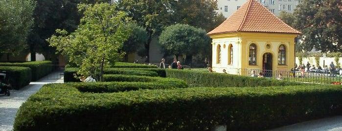 Františkánská zahrada is one of Historická Praha.