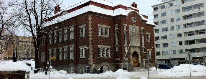 Kallion kirjasto is one of HelMet-kirjaston palvelupisteet.