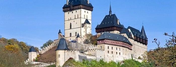 Státní hrad Karlštejn is one of Historická Praha.