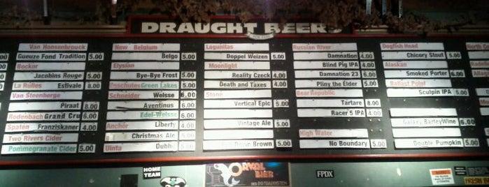 Toronado is one of Draft Magazine Best Beer Bars.