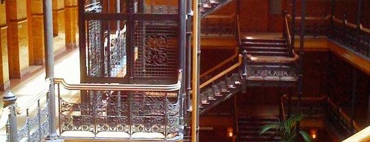 Bradbury Building is one of The Historical Landmarks of LA Noire.