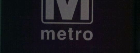 Farragut North Metro Station is one of WMATA Train Stations.