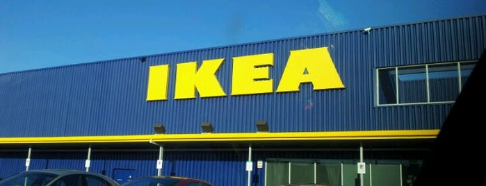 IKEA is one of Places I shop.
