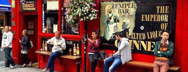 The Temple Bar is one of Dublin - the ultimate guide.