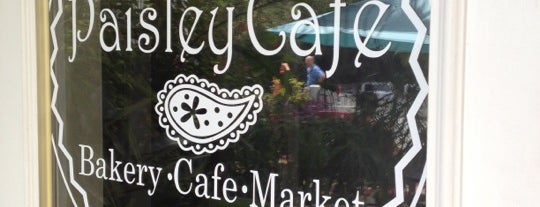 Paisley Cafe is one of Niche Food in Tallahassee.