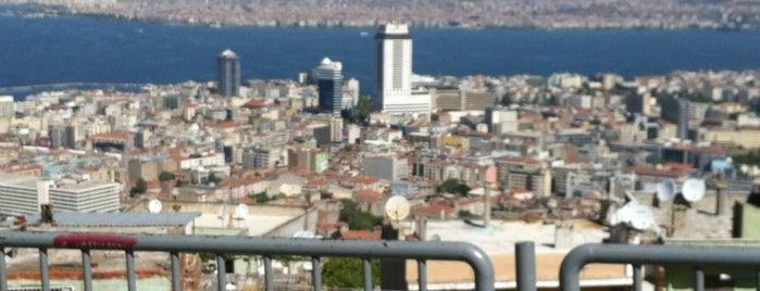Kadifekale is one of İzmir.