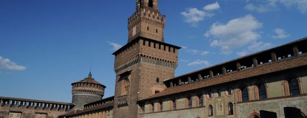 Sforza Castle is one of Best places in Milan.