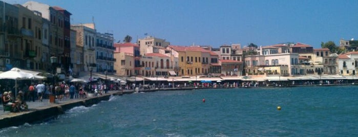 Chania is one of Kreta.