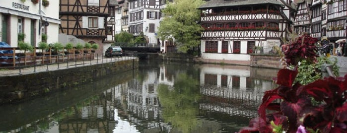 La Petite France is one of Strasbourg.