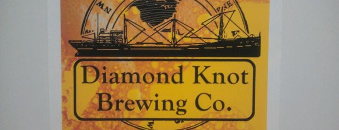 Diamond Knot Production Brewery & Taproom is one of WABL Passport.