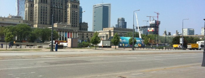 Strefa Kibica UEFA EURO 2012 / Fan Zone UEFA EURO 2012 is one of Warsaw.