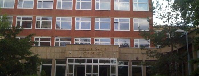 University of Economics Prague is one of Žižkovský průvodce Restaurace Záležitost.