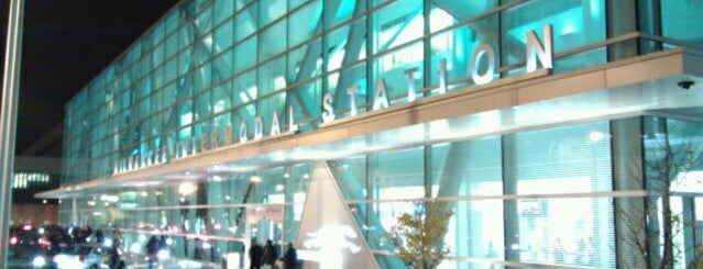 Milwaukee Intermodal Station (MKE) is one of Things to do before graduating.
