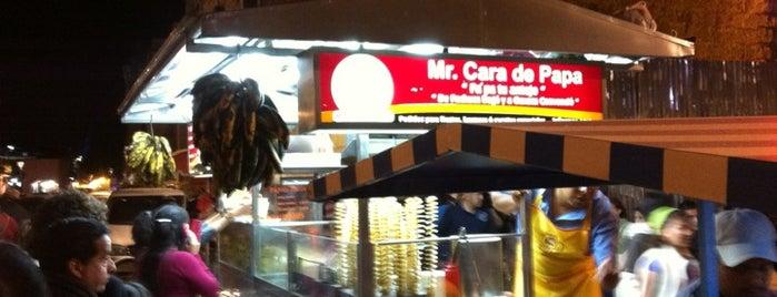 Mr. Cara De Papa is one of food.