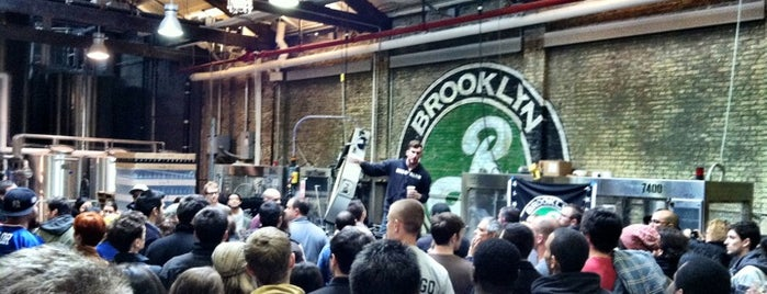 Brooklyn Brewery is one of Comprehensive List of Bars in Williamsburg Bklyn.