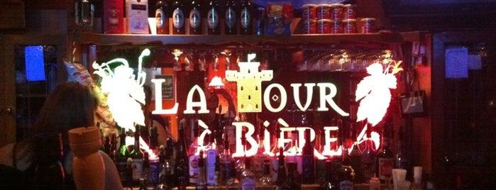 La Tour à Bières is one of Microbrasseries Québec.