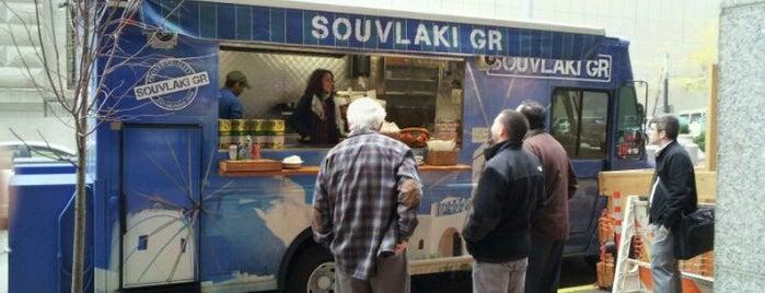Souvlaki GR Truck is one of NYC Food on Wheels.