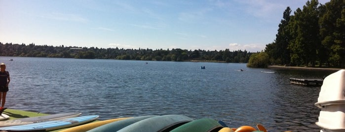 Green Lake Park is one of Great Food in Springfield, Oregon.