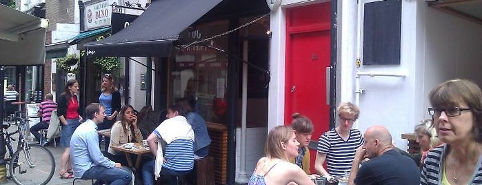 Lantana Cafe is one of London as a local.