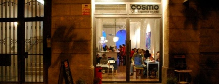 Cosmo is one of Cafes.