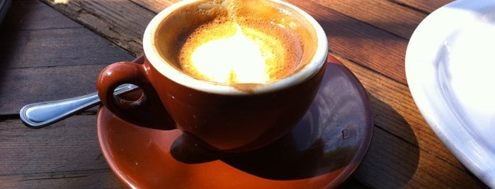 Four Barrel Coffee is one of Wes' guide to SF.