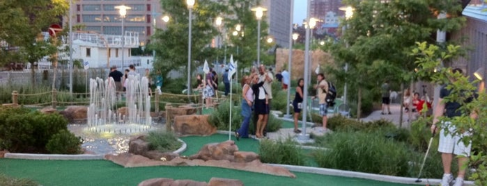Pier 25 Mini Golf is one of great outdoors in manhattan.