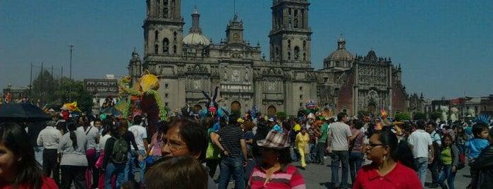 Plaza de la Constitución (Zócalo) is one of Distrito Federal - Foro Consultivo 2011.