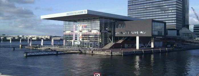 Muziekgebouw aan 't IJ is one of Amsterdam <3.