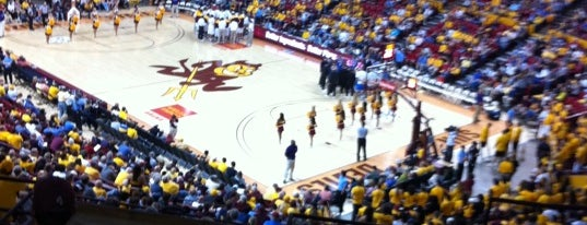 Wells Fargo Arena is one of Basketball Arenas of the Pac-12.