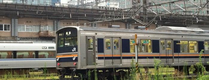 網干総合車両所 宮原支所 is one of JR線の駅.