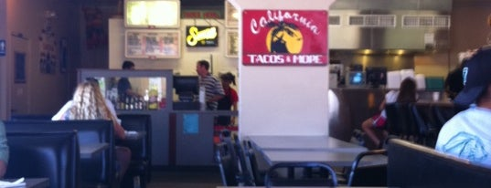 California Tacos & More is one of Diners, Drive-Ins, & Dives.