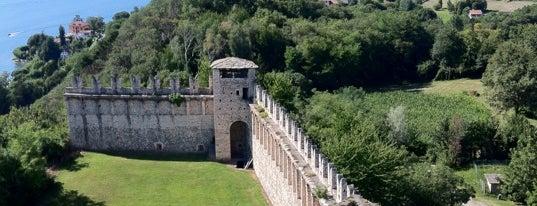 Rocca Borromeo is one of Lago Maggiore.