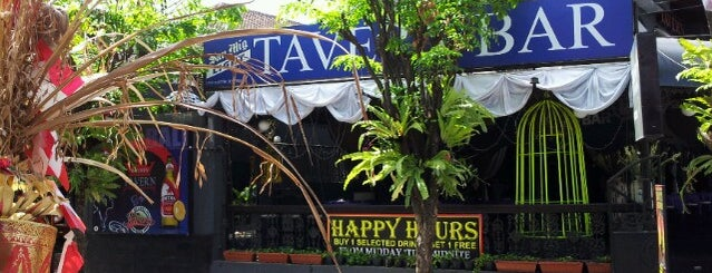 Tavern Bar is one of Animal House Badge in Bali.