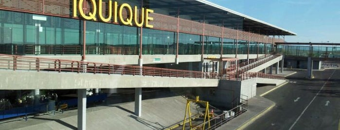 Aeropuerto Internacional Diego Aracena (IQQ) is one of Airports in US, Canada, Mexico and South America.