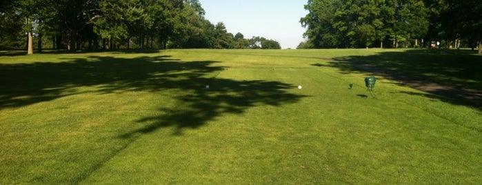 Griffith E Harris Golf Course is one of home turf.