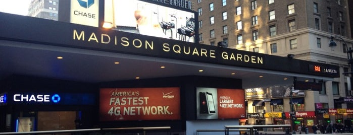 Madison Square Garden is one of The Crowe Footsteps.
