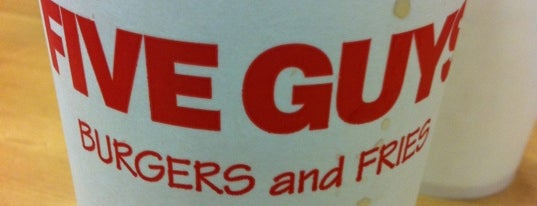 Five Guys is one of Best Burgers.