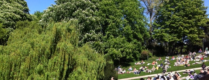 Buttes Chaumont Park is one of (anything) in Paris.