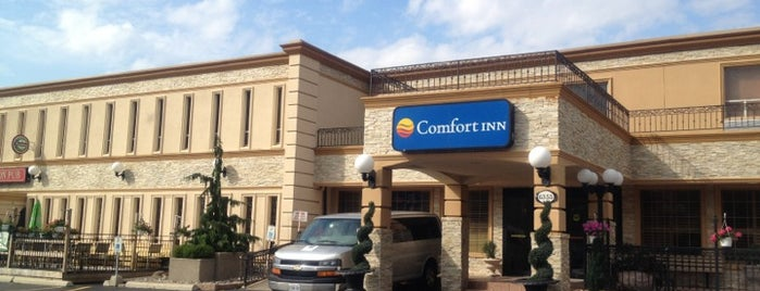 Comfort Inn is one of Hotels I stayed in.