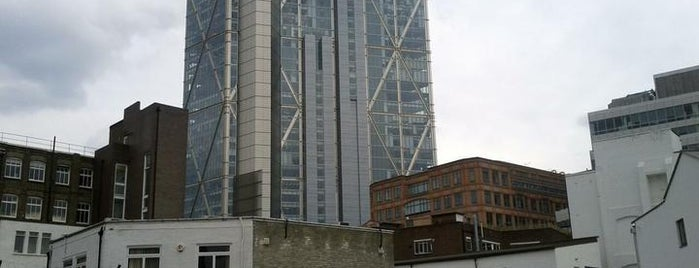 MOO HQ is one of Silicon Roundabout / Tech City London (Open List).